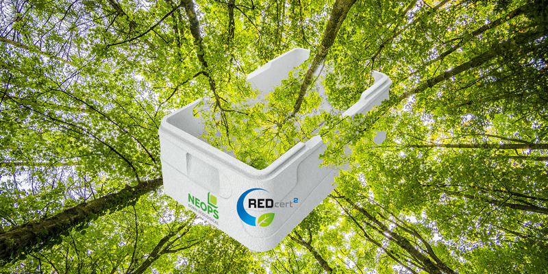 NEOPS es el primer producto certificado por su balance de biomasa, elaborado a partir de residuos vegetales.