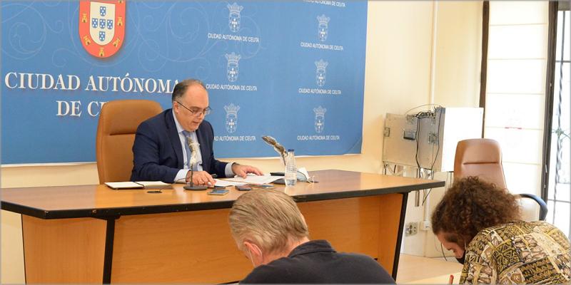 El portavoz del Gobierno y consejero del área, Alberto Gaitán, aprobaba el paquete de ayudas a la rehabilitación el pasado 24 de julio.