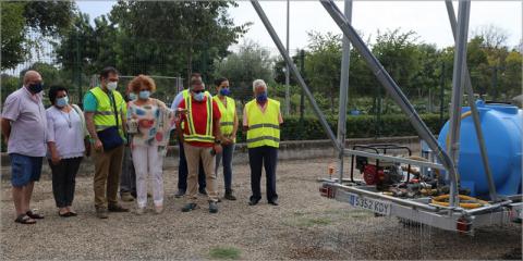 Finalizan las obras del drenaje urbano sostenible implantado en la Avenida de Séneca de Sevilla