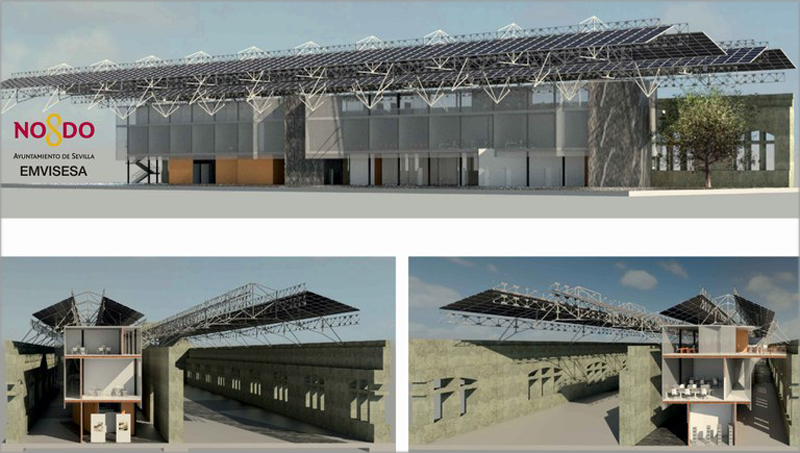 Las Naves de Renfe se transformarán en un centro de emprendimiento e innovación tecnológica , ubicadas en el barrio de San Jerónimo.