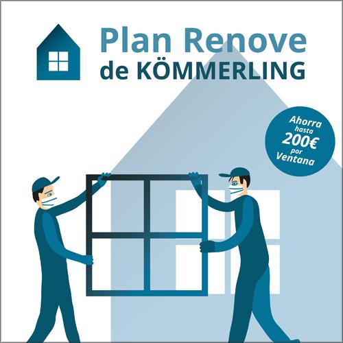 Kömmerling lanza una campaña que busca impulsar el sector del cerramiento y facilitar el cambio de ventanas al consumidor final.