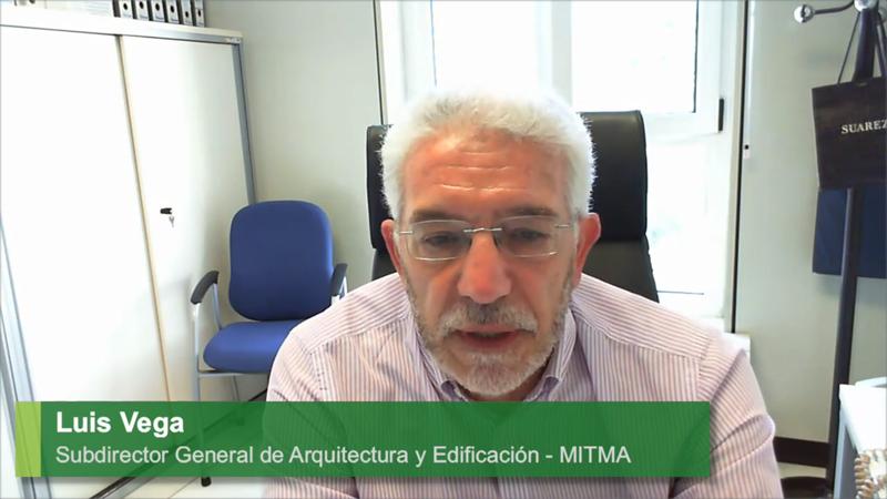 Luis Vega ha señalado que en la nueva etapa de la descarbonización, la rehabilitación sostenible será el motor de reactivación económica.