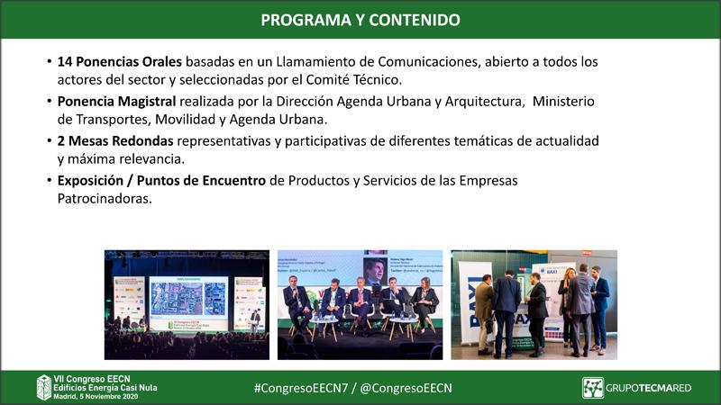 Este año el Congreso EECN tendrá 14 ponencias orales que se seleccionarán en la segunda reunión del Comité Técnico, además de dos mesas redondas con temáticas de actualidad y una ponencia magistral.
