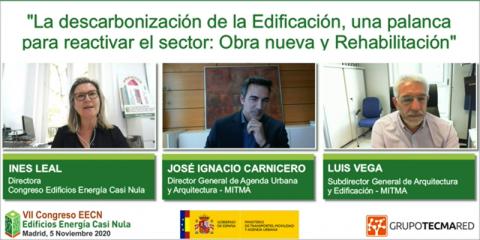 Jornada presentación VII Congreso EECN: descarbonización, rehabilitación energética, sostenibilidad y digitalización, protagonistas del evento