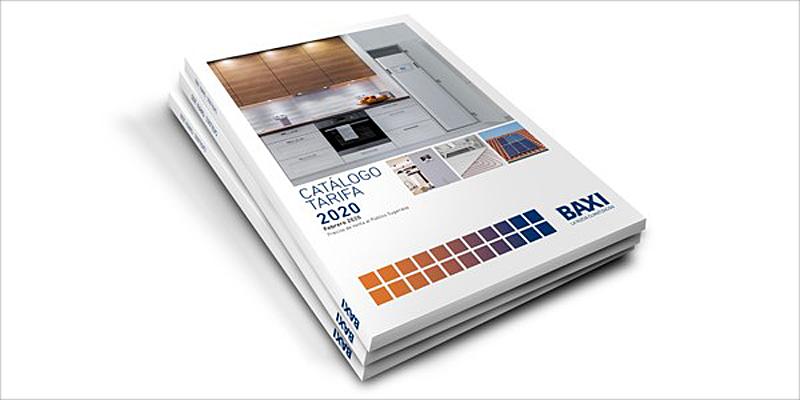 nuevo catálogo de BAXI