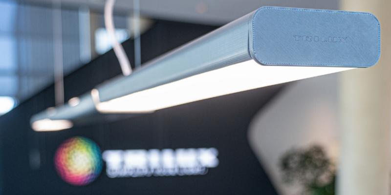 Junto con el estudio Graft, Trilux ha construido el primer prototipo de una luminaria basada en PLA.