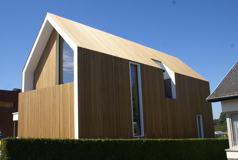 Casa diseñada por Lieze Vandael, ubicada en Bélgica.
