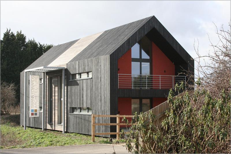 Oficina de Swann Edward Architecture, con certificación Passivhaus