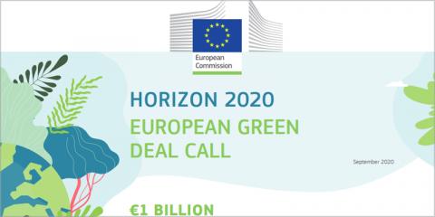 Convocatoria del Pacto Verde Europeo abierta a proyectos que afronten el cambio climático