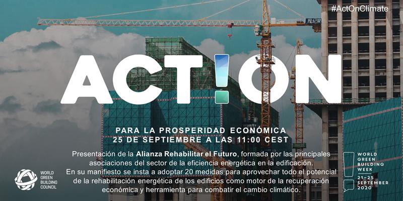 Presentación de la Alianza 'Rehabilitar el futuro'