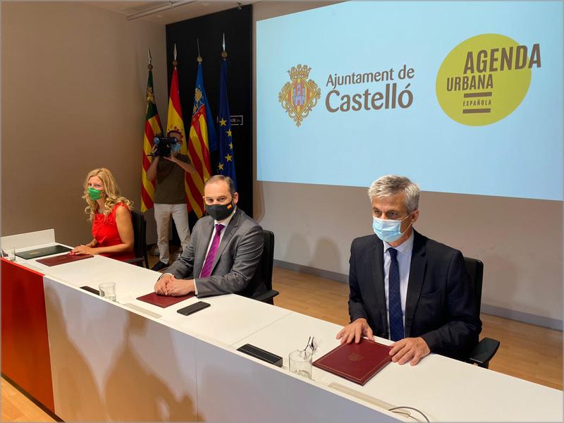 Castellón es la primera ciudad con la que el Gobierno firma este Protocolo de Actuación.