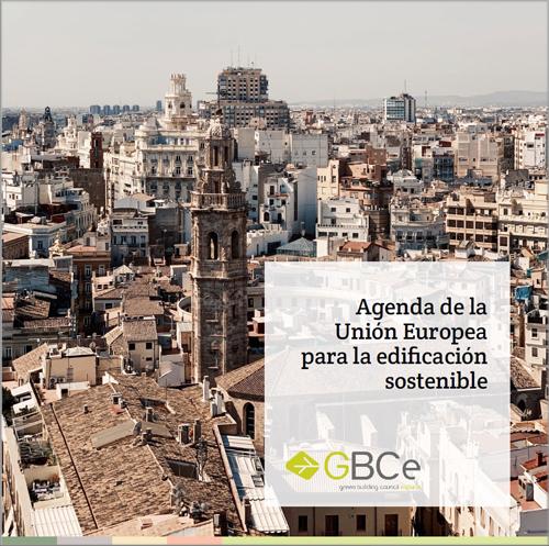 portada Agenda de la Unión Europea para la edificación sostenible y su influencia en la regulación y políticas en España