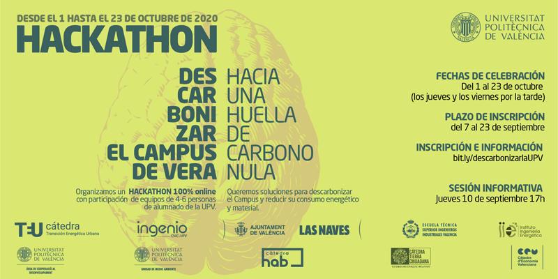hackathon para descarbonizar el Campus de Vera.