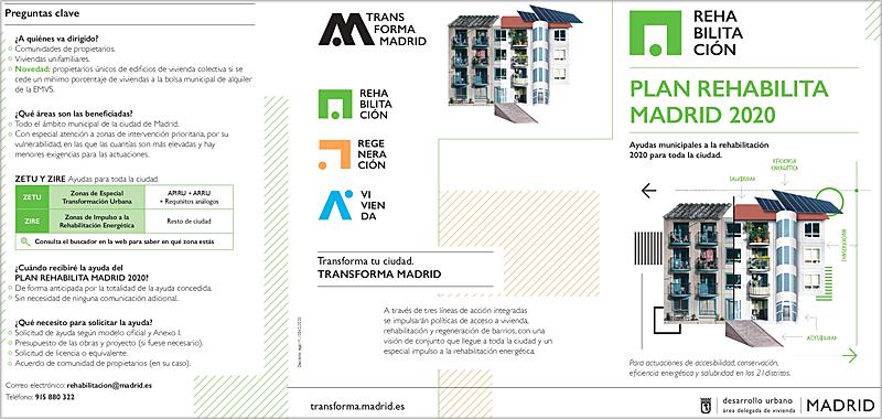 El nuevo 'Rehabilita 2020' aumenta las ayudas y abarca todos los barrios de Madrid
