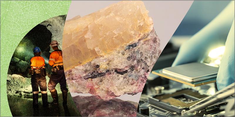 La CE anuncia acciones para lograr mayor seguridad y sostenibilidad del suministro de materias primas en Europa.