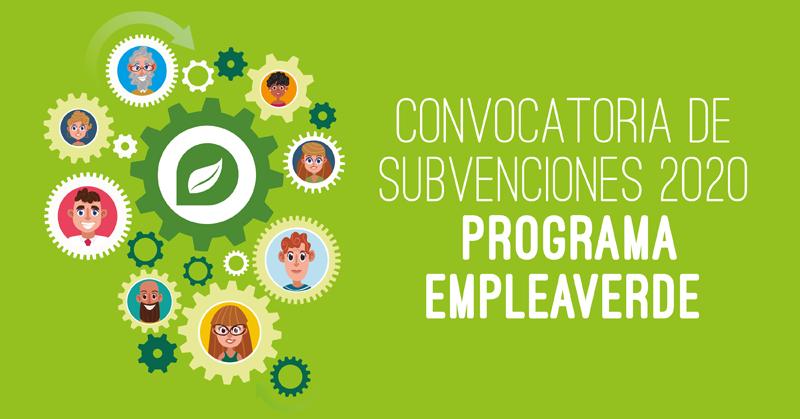 convocatorias Programa Empleaverde