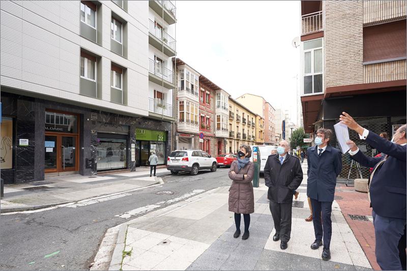 regeneración urbana barrio coronación en vitoria
