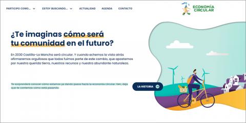 Castilla-La Mancha crea un nuevo portal web dedicado a difundir la economía circular