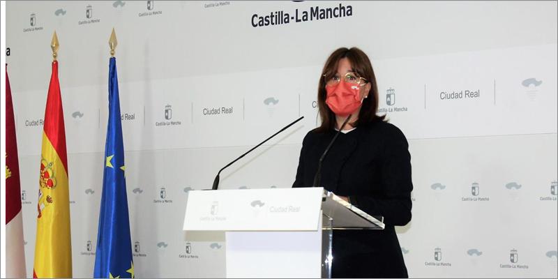 La consejera de Igualdad y portavoz regional, Blanca Fernández,