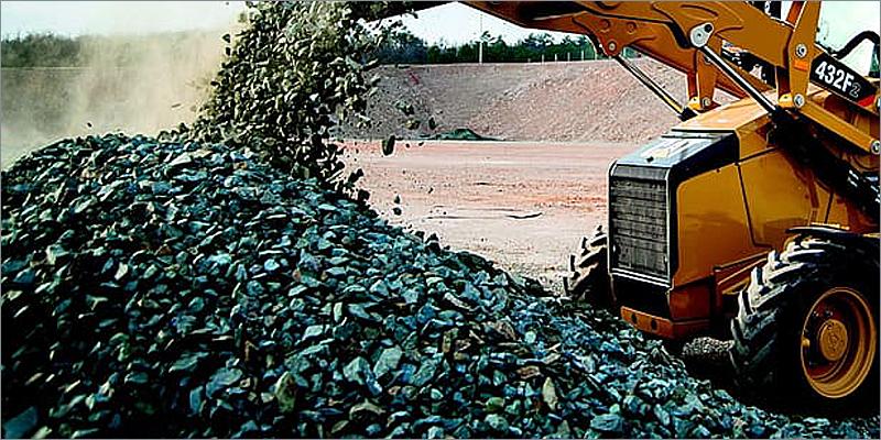 excavadora de minerales