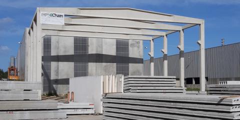 El proyecto PaperChain utiliza residuos de celulosa como materia prima de construcción