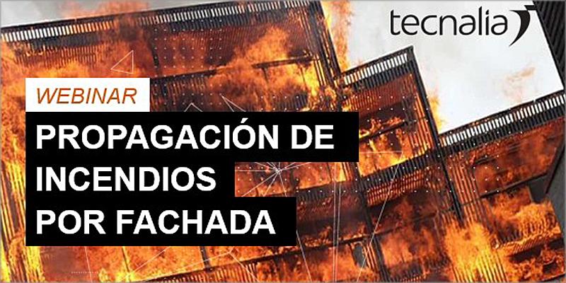 webinar 'Propagación de incendios por fachada'