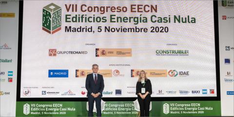 El VII Congreso Edificios Energía Casi Nula posiciona el sector de la edificación como motor clave para la descarbonización y la recuperación económica en España