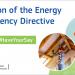 Abierta la consulta pública para revisar la directiva de eficiencia energética de la CE