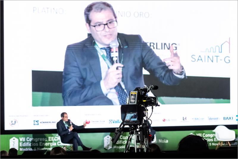 Jacobo Llerena, subdirector general de Eficiencia Energética de la Dirección General de Política Energética y Minas del Miteco