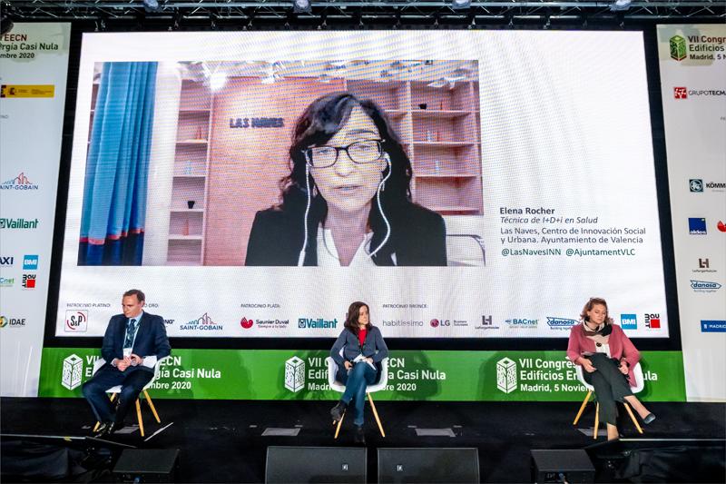 Elena Rocher, técnica de I+D+i en Salud de Las Naves
