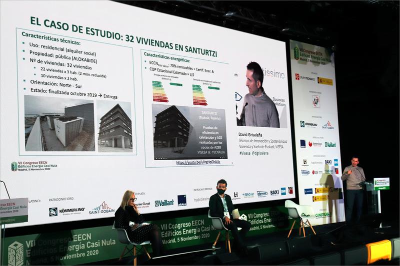David Grisaleña, técnico de Innovación y Sostenibilidad de Vivienda y Suelo de Euskadi, VISESA