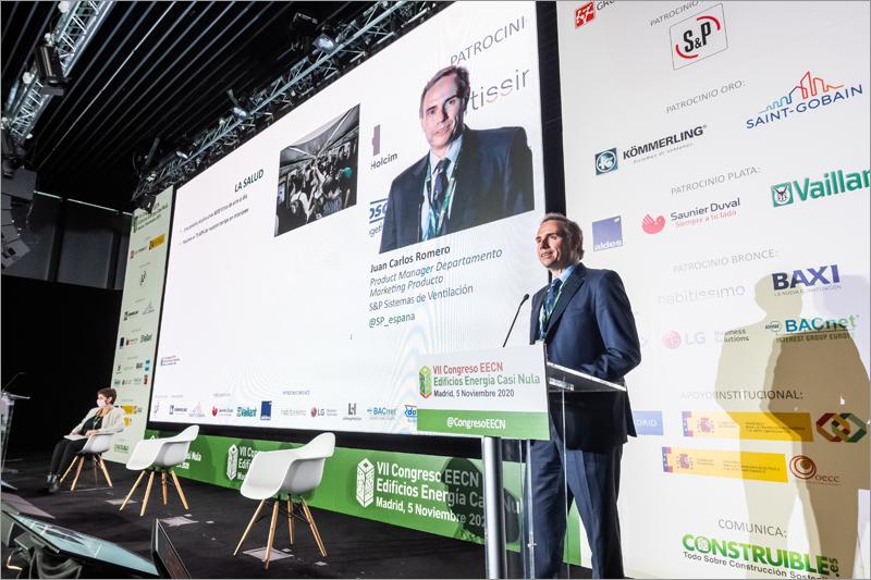 Eduardo Bielza, responsable de Producto de Ventilación Mecánica Controlada de S&P Sistemas de Ventilación