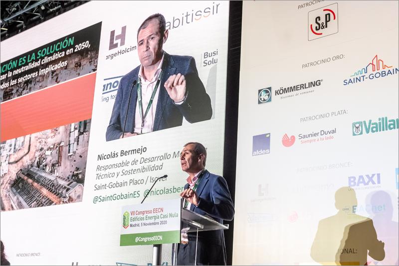 Nicolás Bermejo, responsable de Desarrollo Marketing Técnico y Sostenibilidad de Saint-Gobain Placo – Isover.