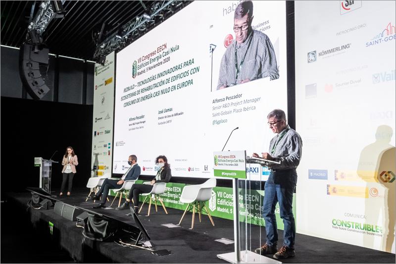 Alfonso Pescador, senior R&D Project Manager en Saint-Gobain Placo Ibérica