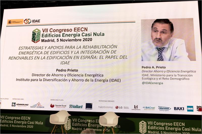 Pedro A. Prieto, director de Ahorro y Eficiencia Energética del IDAE