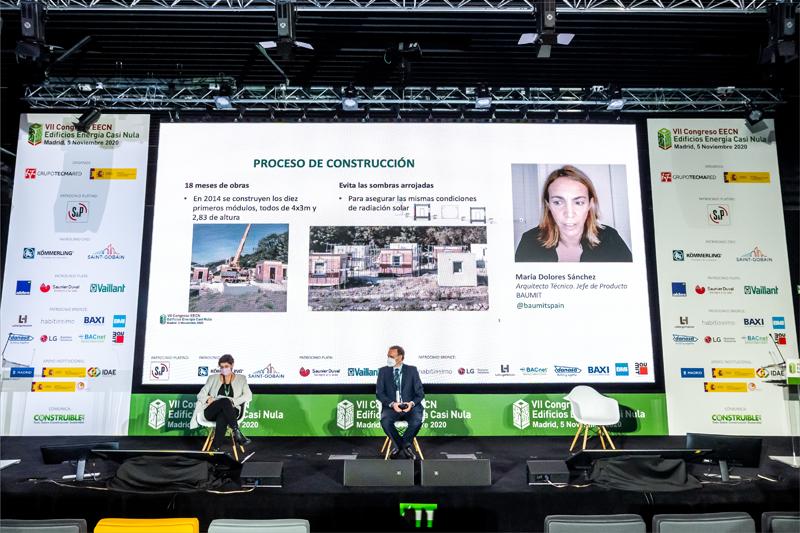 María Dolores Sánchez, arquitecto técnico y jefe de Producto en Baumit