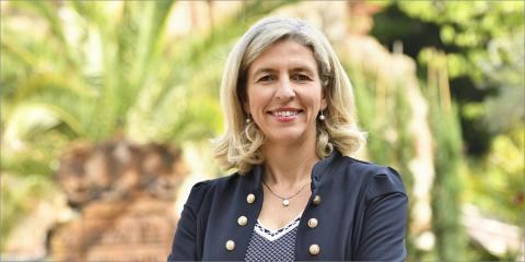Mercedes Bernabé, concejala de Agenda Urbana y Gobierno Abierto del Ayuntamiento de Murcia