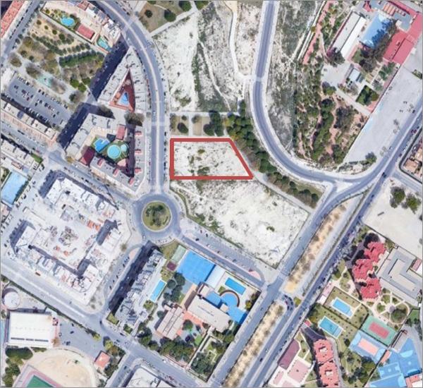 área donde se construirá PAU2