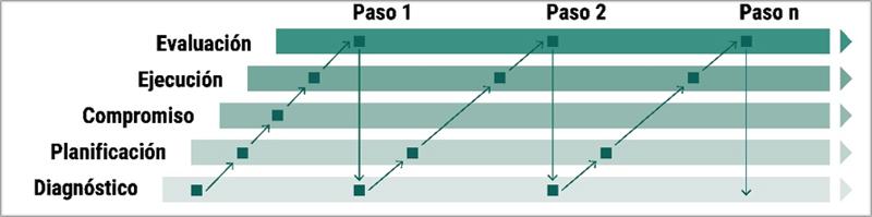 Estructura de fases.