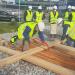 Comienza la construcción del edificio de madera de consumo casi nulo Impulso Verde