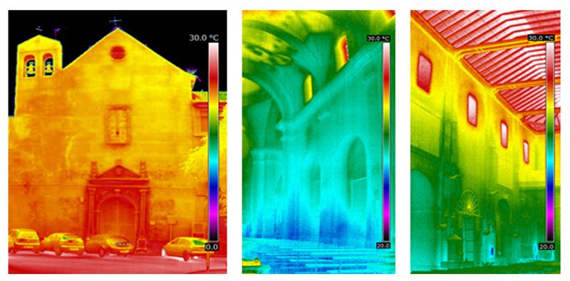 Termografías edificios patrimoniales