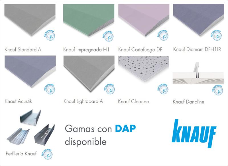 Declaraciones Ambientales de Producto de knauf