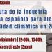 Presentación online de la hoja de ruta para descarbonizar la industria cementera en 2050