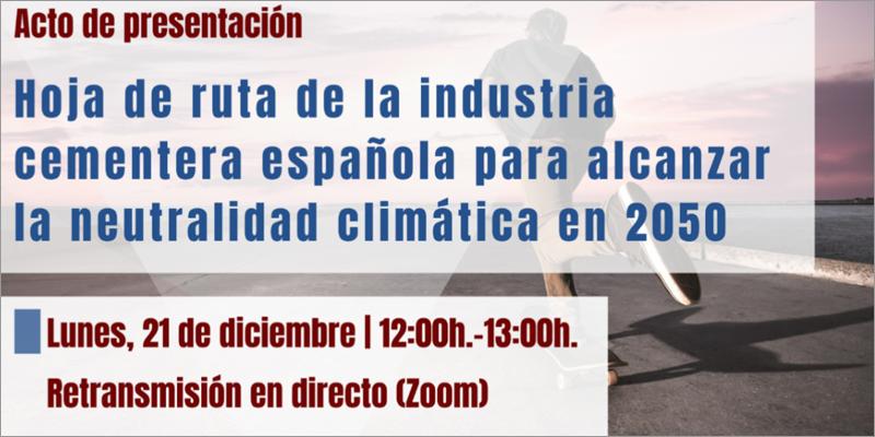presentación de la estrategia de descarbonización del sector cementero