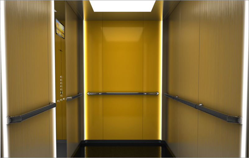 diseño ascensor otis