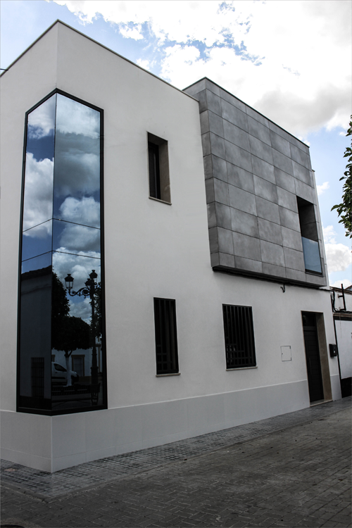 fachada de la vivienda