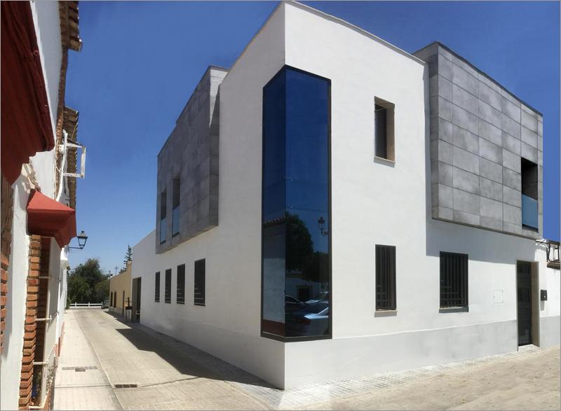 exterior esquina del edificio