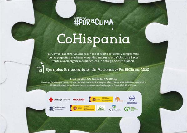 reconocimiento de CoHispania