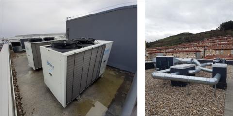 Caracterización del comportamiento real de instalaciones térmicas. Caso de estudio 32 viviendas sociales en Santurtzi, Bizkaia