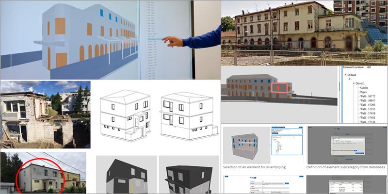 edificios y modelados bim